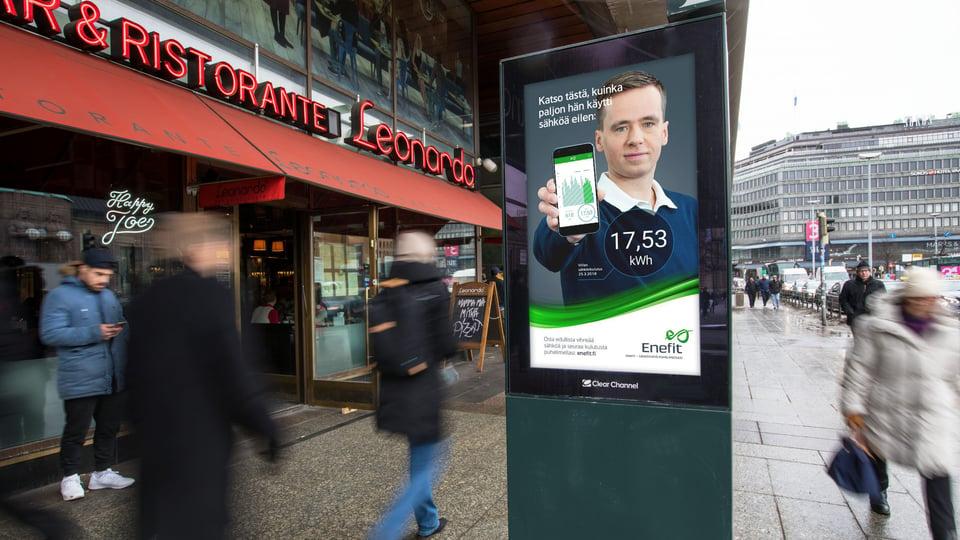 Sähköyhtiö Enefit tuotiin näyttävästi Suomen markkinoille