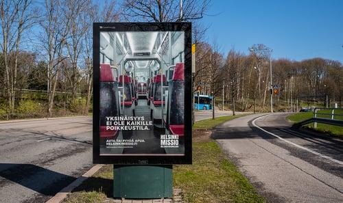 HelsinkiMissio – Yksinäisyys ei ole kaikille poikkeustila