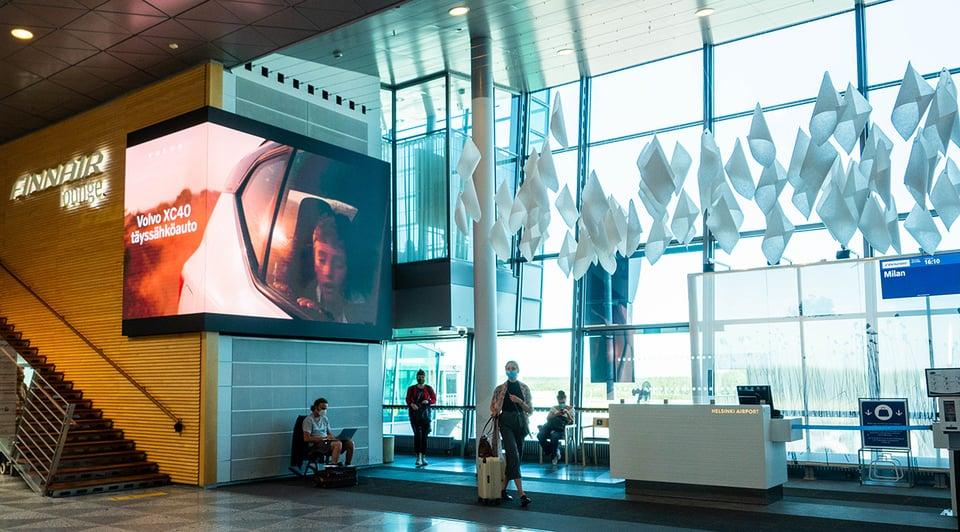 Helsinki-Vantaan lentoasemalla näyttäviä ja uniikkeja uutuuksia