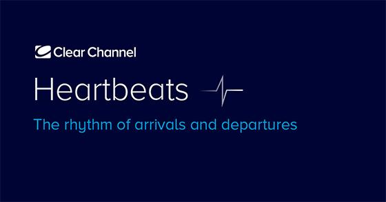 Clear Channelin Heartbeats-konsepti nostaa kohdennetun mainonnan vaikuttavuuden täysin uudelle tasolle lentoasemalla