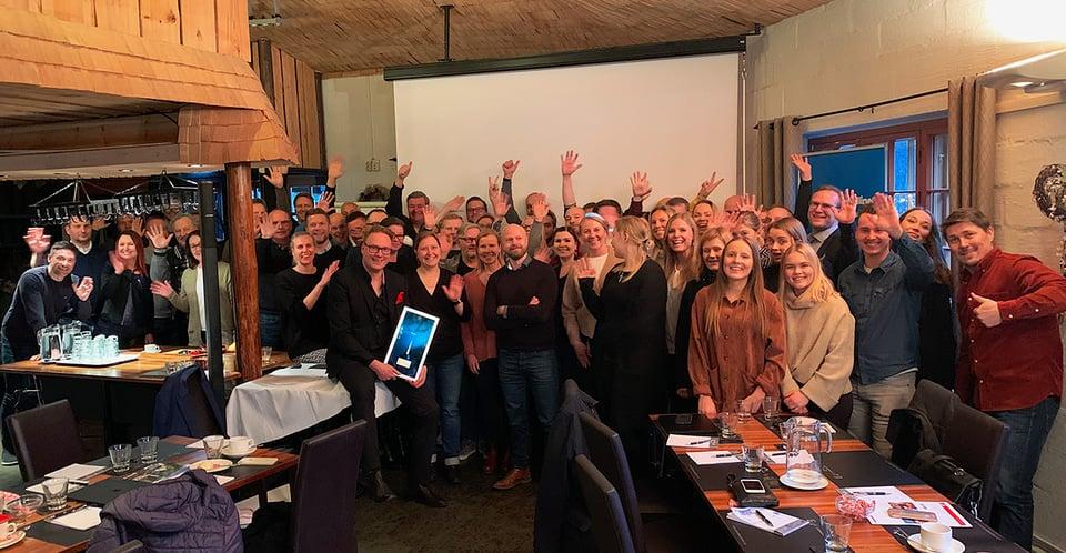 Mediamainonnan määrä kasvoi jälleen vuonna 2019 – Outdoor Finland palkittiin vuoden mediatoimijana