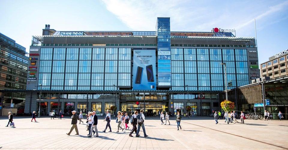 Kamppi Helsinki ja Clear Channel jatkavat sekä tiivistävät pitkäaikaista yhteistyötään