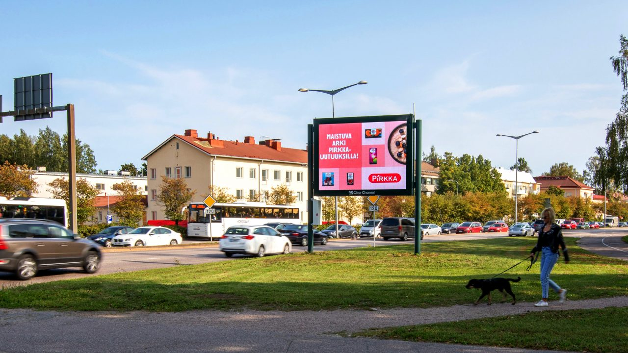Digitaalinen mainos — panorama
