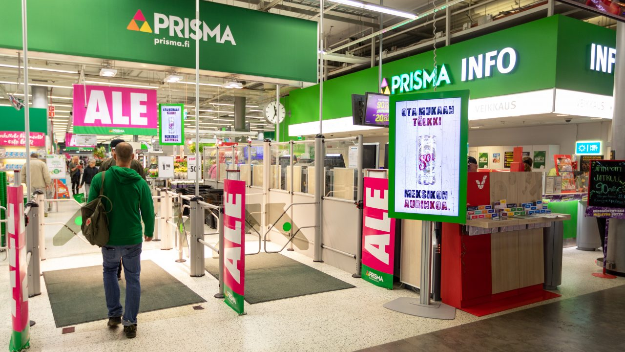 Digitaalinen mainos — store digital