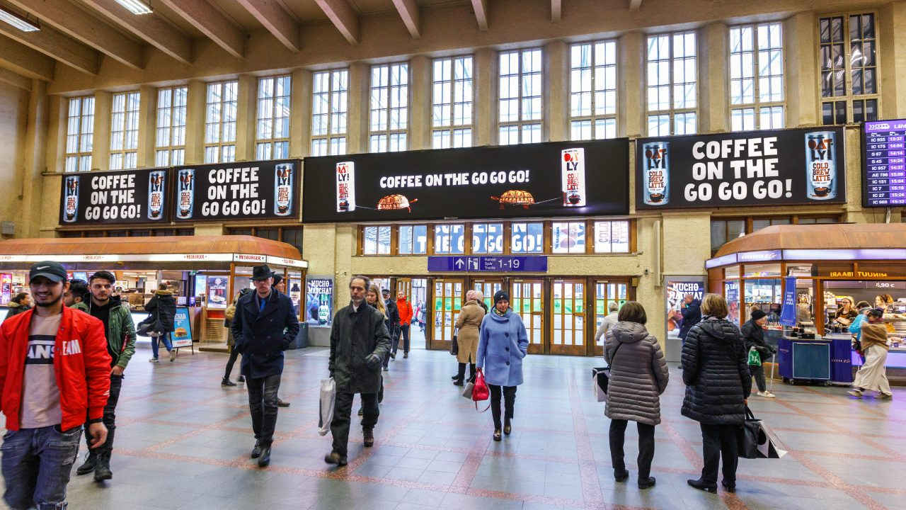 Digital advertisement — The Grand central