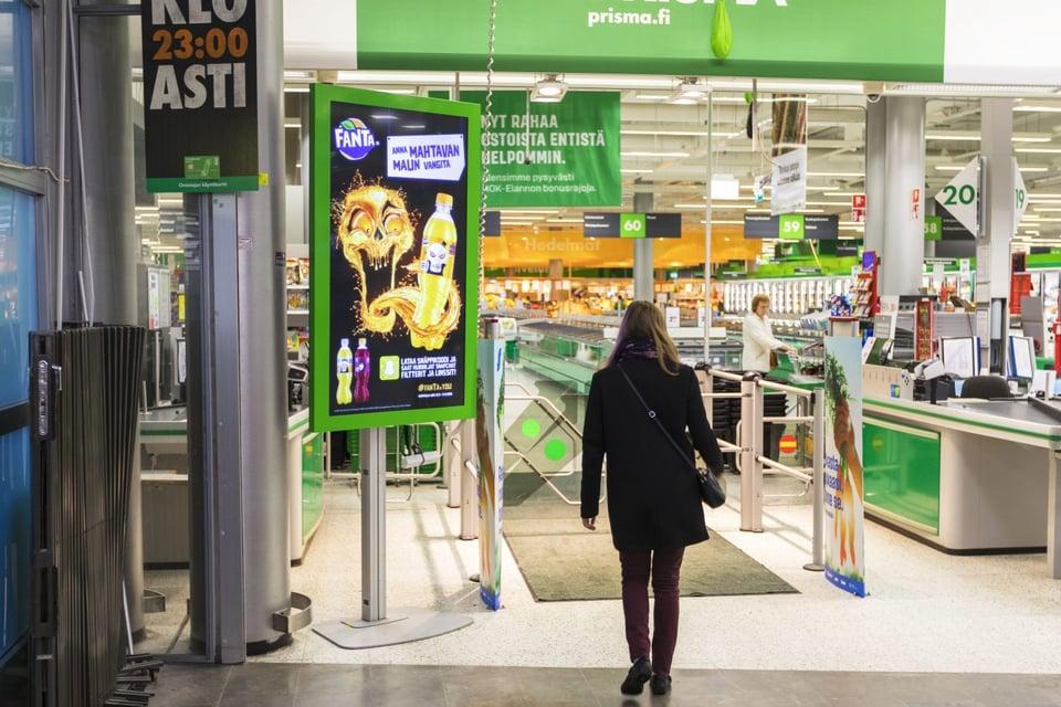 Mainonta ruokakaupassa ohjaa ostopäätöksiä
