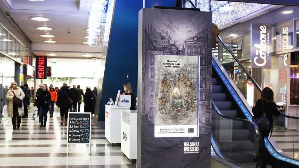 Helsinkimission vaikuttava joulukampanja puhuttelee kaupunkilaisia uudella joululaululla ja teknologialla
