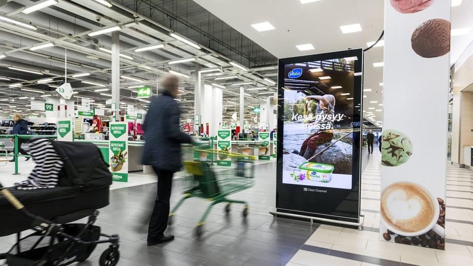 Kauppakeskus kaaren digitaalinen verkosto laajenee